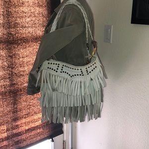 Betseyville by Betsey Johnson fringe hand bag